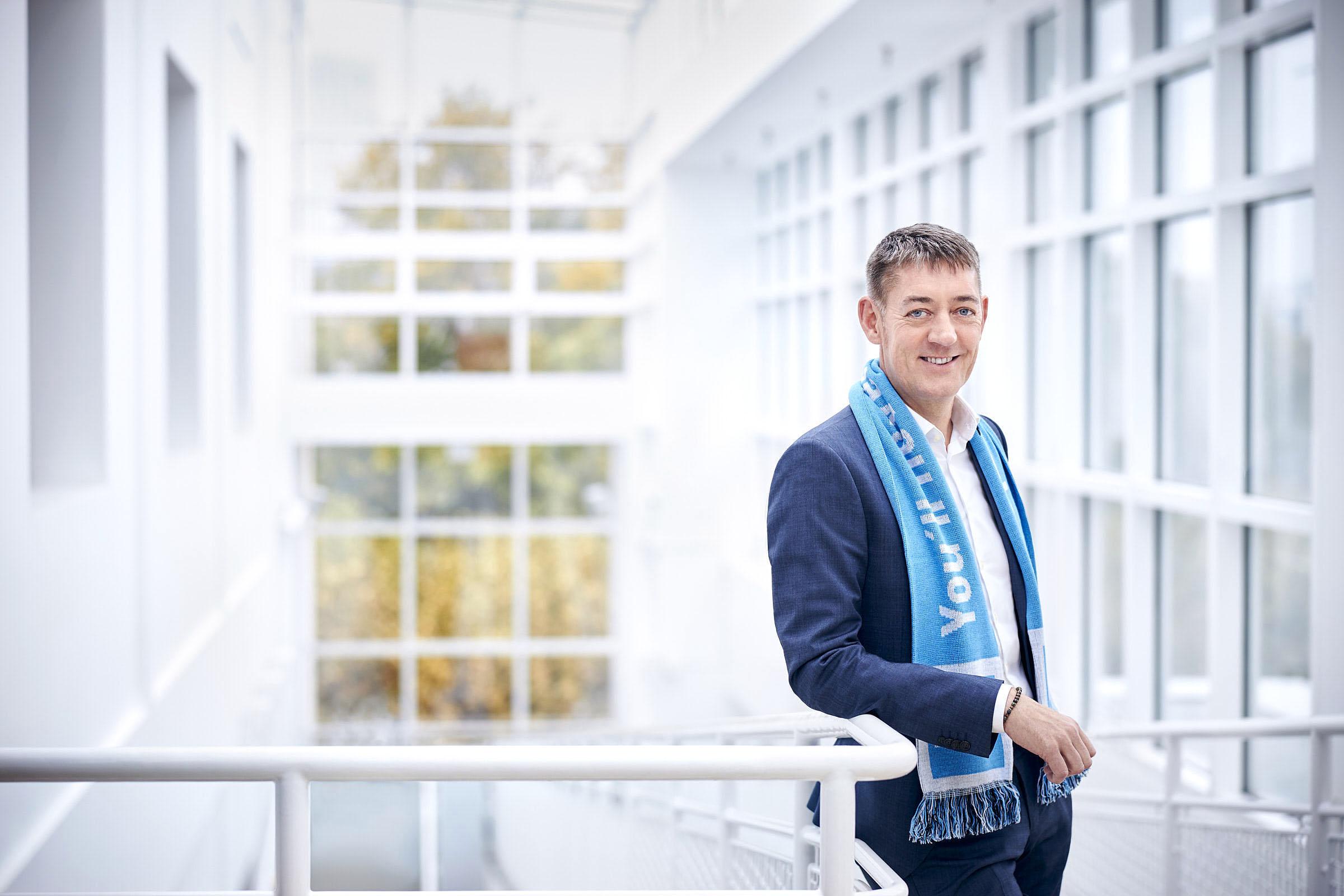 Ulrich Siepe, BMI Group, am 08.10.2019 in Frankfurt